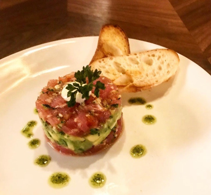 Tuna Tartar Tower