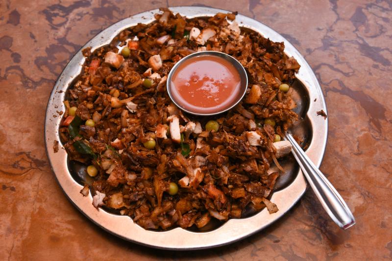 Chicken Kottu Parotta Image