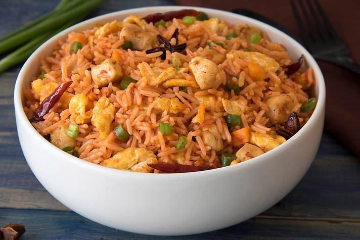 Chicken Schezwan Fried Rice Image