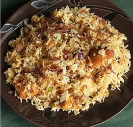 Bezawada Chicken Fry Biryani Image