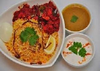 Chicken Fry Biryani Image