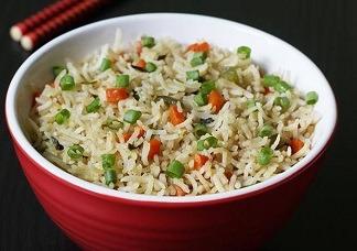 Veg Fried Rice Bowl