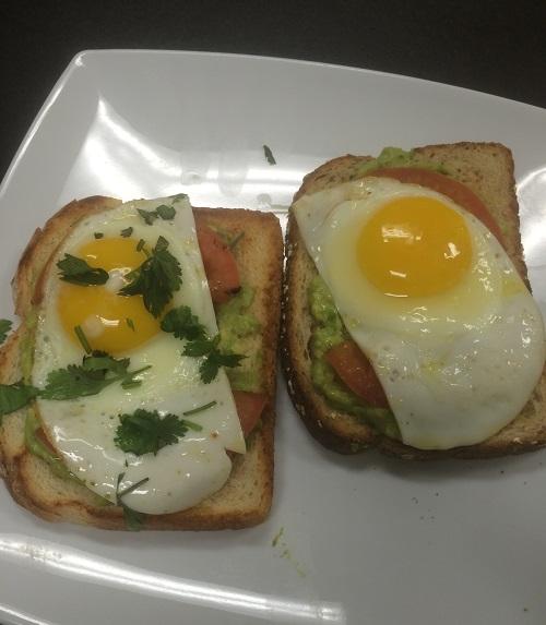 California Style Breakfast Sandwich Image