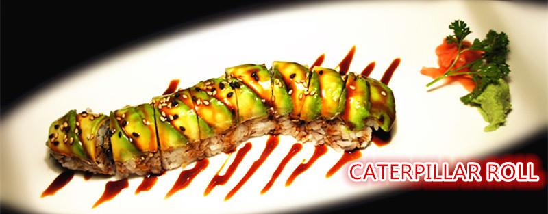 21. Caterpillar Roll (8 pcs)
