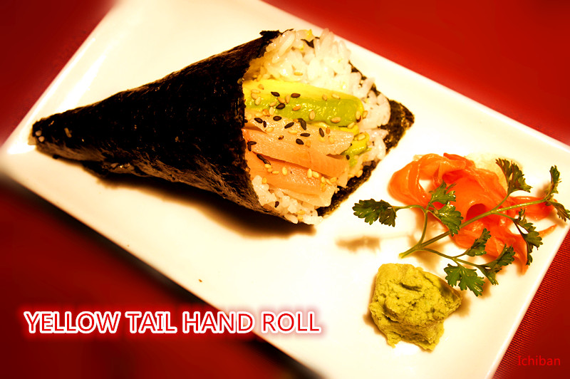 8. Yellow Tail Roll