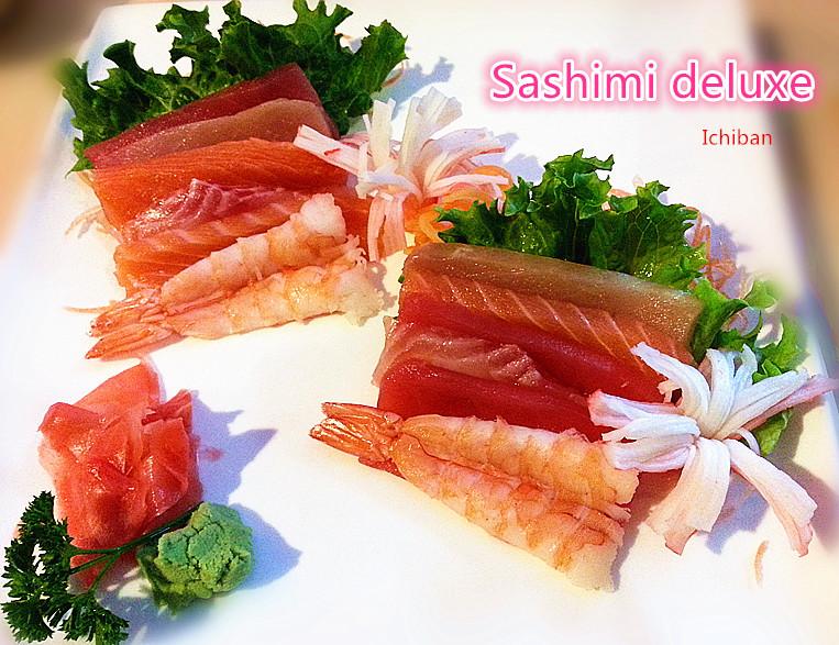 3. Sashimi Deluxe (12 pcs)