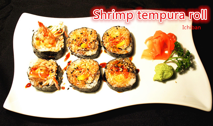 19. Shrimp Tempura Roll (6 pcs)