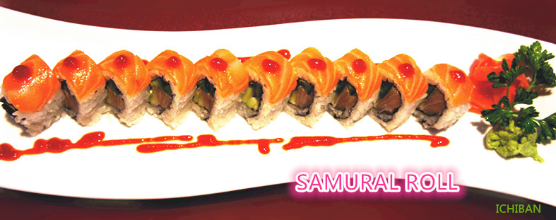 11. Samurai Roll (10 pcs)
