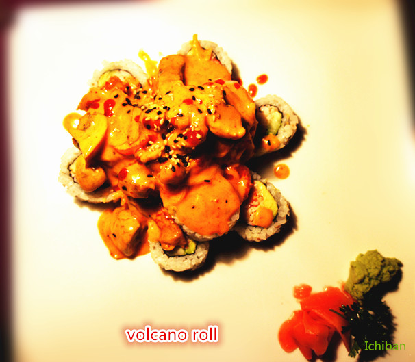 21. Volcano Roll