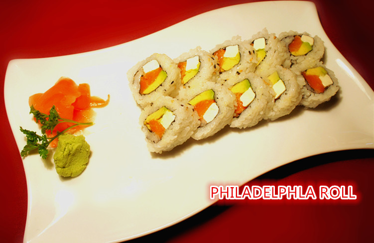 17. Philadelphia Roll (10 pcs)