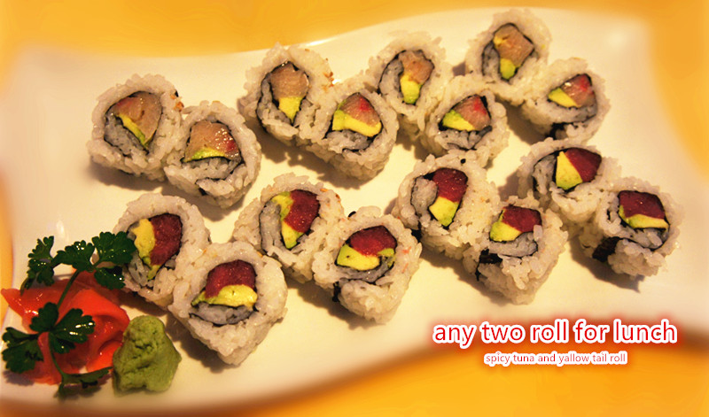 Any 2 Rolls for Lunch Image