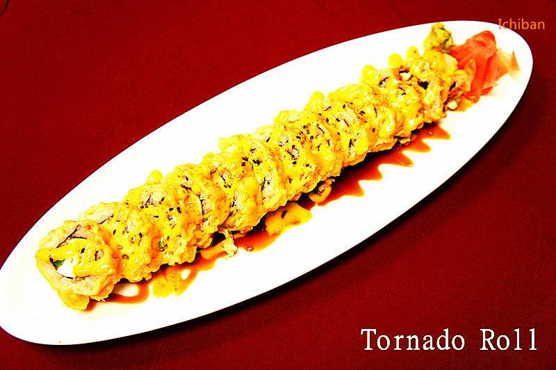10. Tornado Roll (10 pcs)