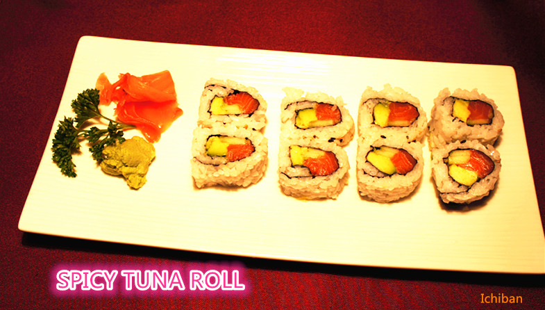 9. Spicy Tuna Roll