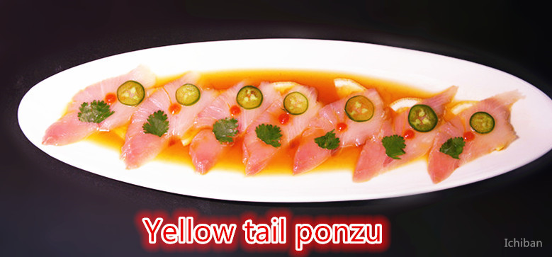 Yellow Yail Ponzu