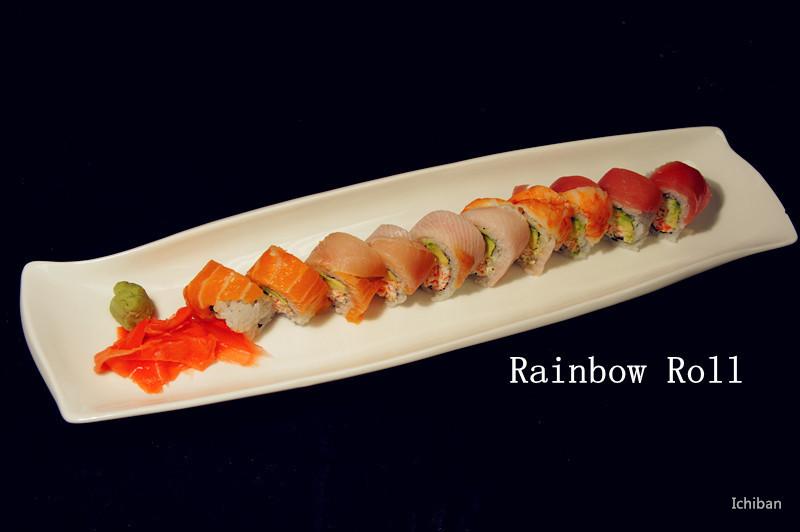 26. Rainbow Roll (10 pcs) Image