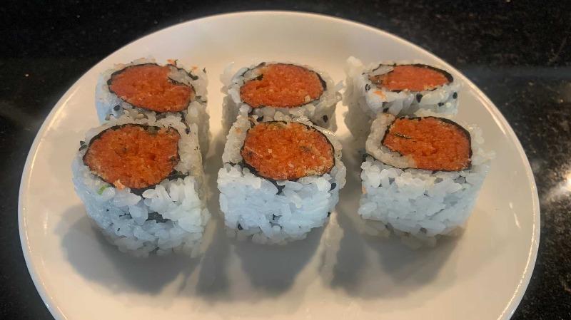 Spicy Tuna w. Crunchy Roll
