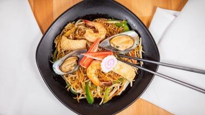 Seafood Stir Fry Ramen