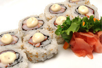Crab & Shrimp Special Roll Image