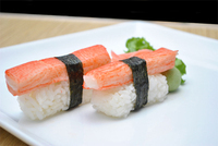 Crab (Kanikama) Sushi Image