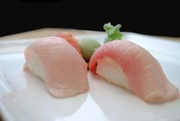 Yellowtail (Hamachi) Sushi