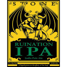 Stone Ruination IPA Image