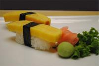 Egg Omelet (Tamago) Sushi Image