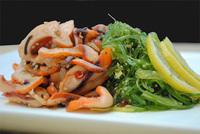 Wakame & Smoke Squid Salad