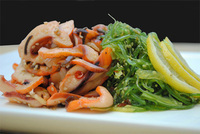 Wakame & Smoke Squid Salad