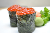 Salmon Roe (Ikura) Sushi