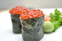Salmon Roe (Ikura) Sushi Image