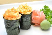 Scallop (Kaibashira) Sushi Image