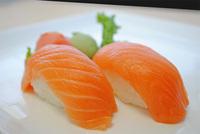 Salmon (Sake) Sushi Image