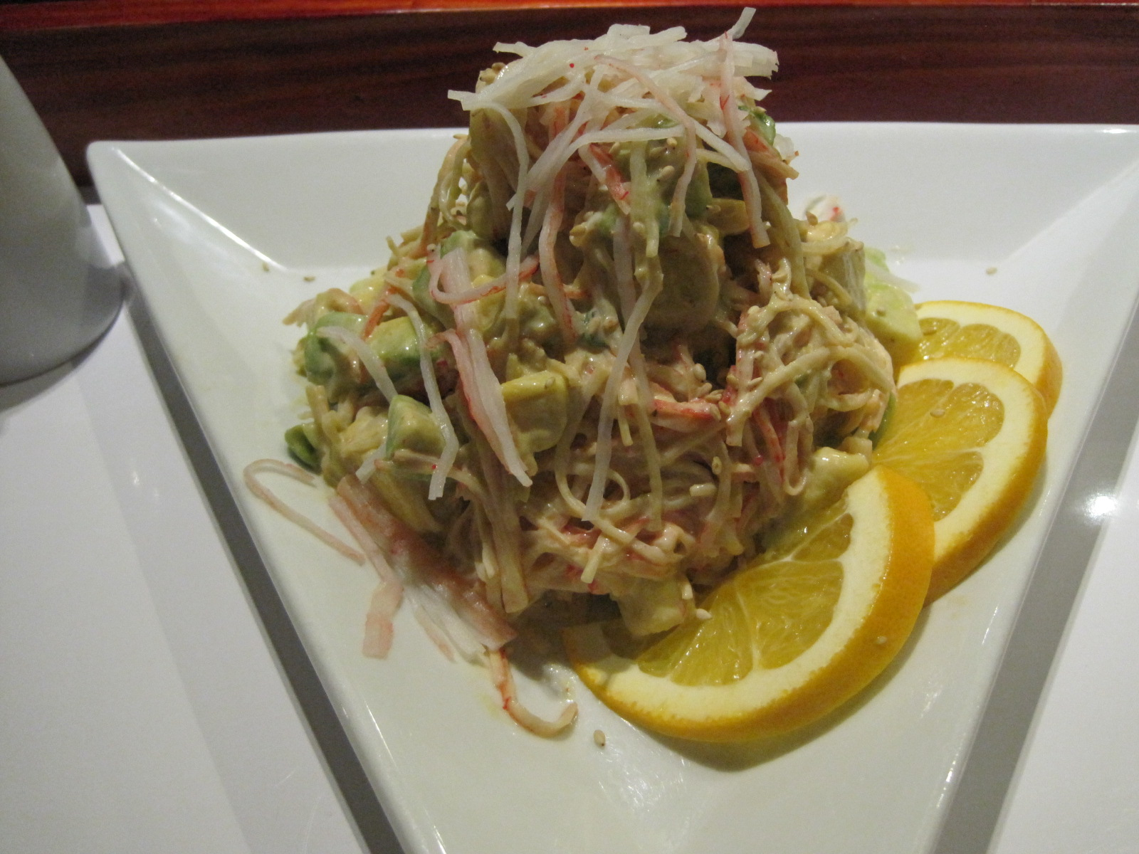 Crab & Avocado Salad Image