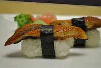 Fresh Water Eel (Unagi) Sushi
