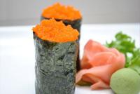 Fish Roe (Masago) Sushi Image