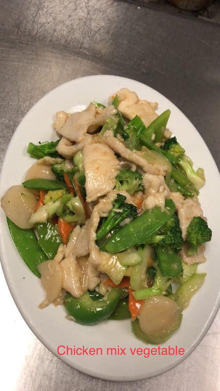 C3. Chicken w. Mixed Vegetables Image
