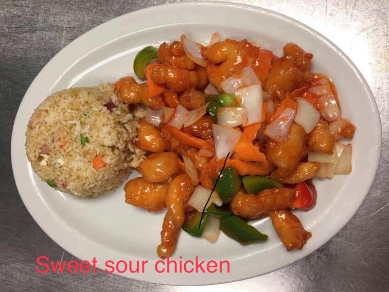D2. Sweet & Sour Chicken
