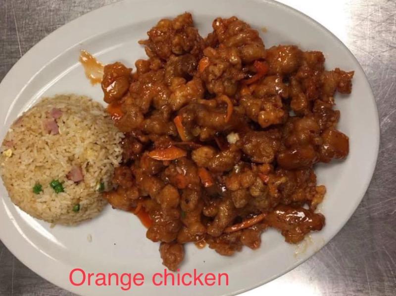 D17. Orange Chicken