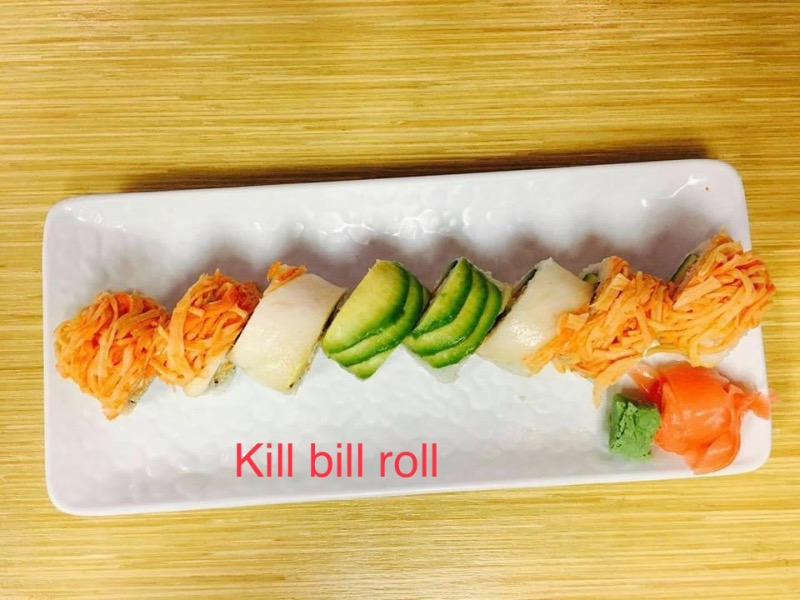 7. Kill Bill Roll