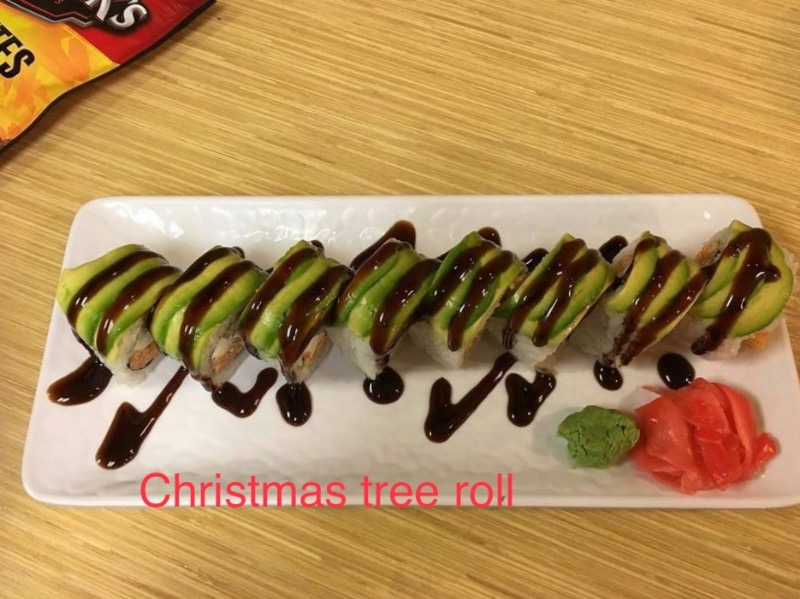 3. Christmas Tree Roll