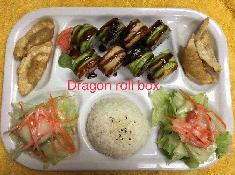 SB2. Dragon Roll Box