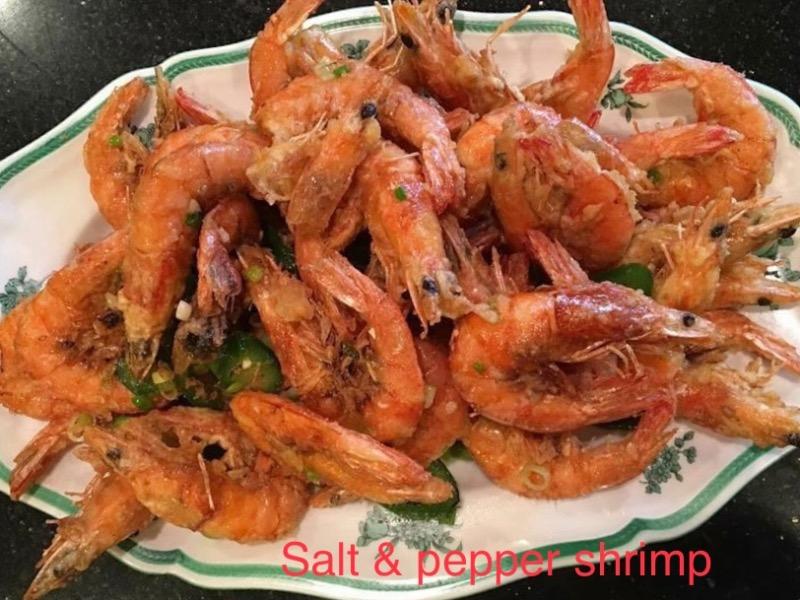 CR11. Salt & Pepper Shrimp