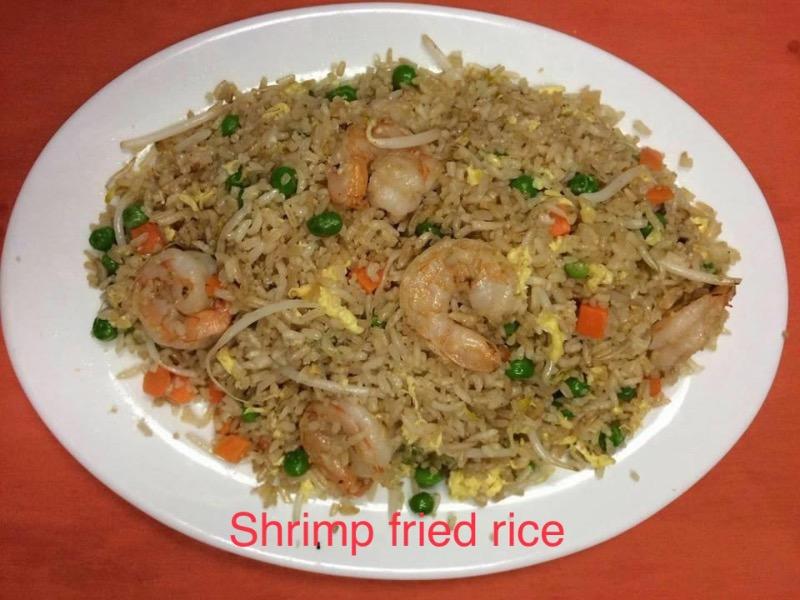 R6. Shrimp Fried Rice