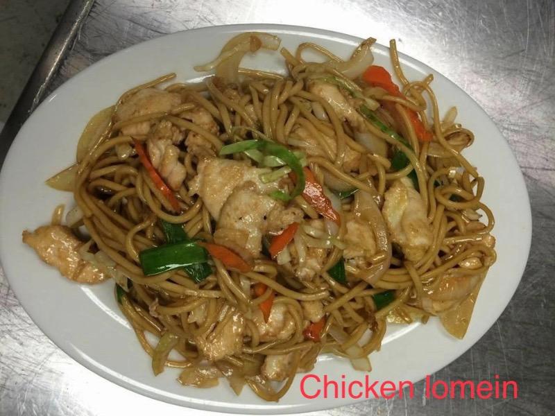 LM2. Chicken Lo Mein Image