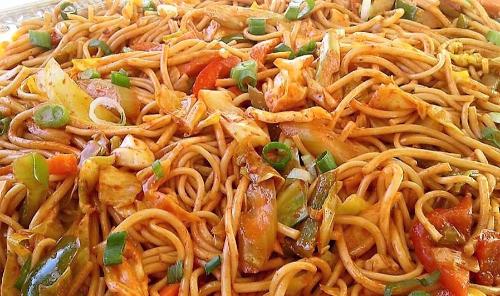 Chamorro Pancit (Fresh Yellow Noodles) Image