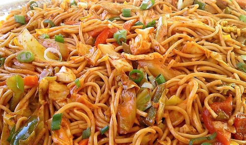 Chamorro Pancit (Fresh Yellow Noodles) Image