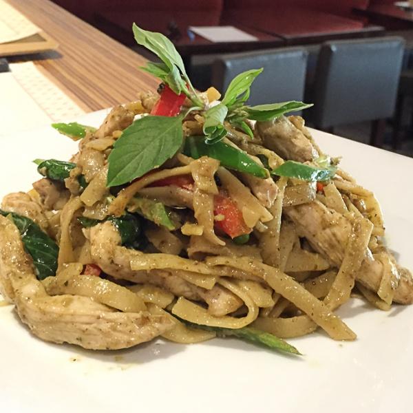Green Curry Fettucine Image
