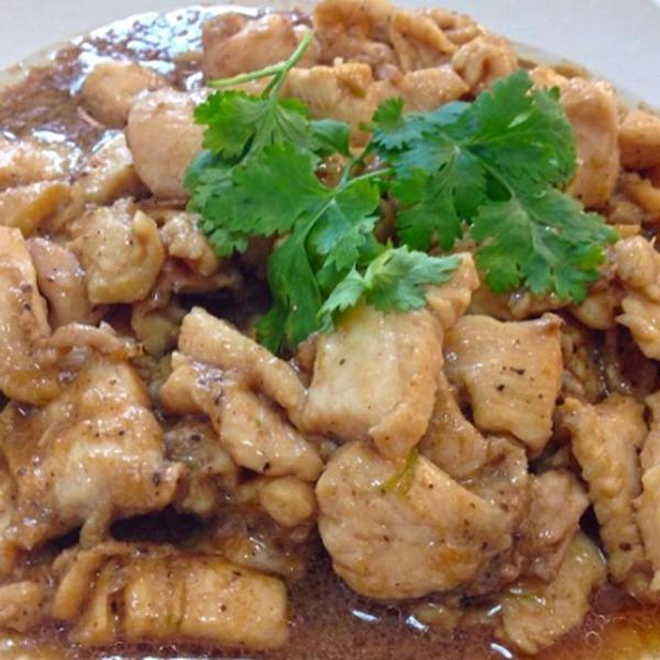 Wok Stir-Fried with Garlic Sauce Image