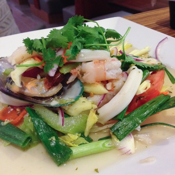 Spicy Seafood Salad (Yum Talay)