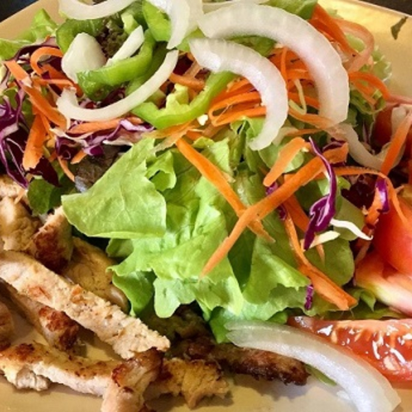 Grilled Pork Salad Image